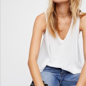 FREE PEOPLE PEACHY TEE